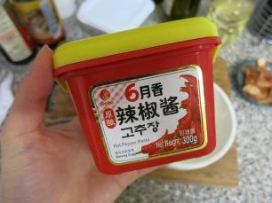 Gochujang red pepper paste